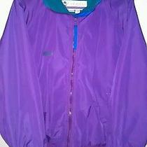 Columbia Women's Large Ski Jacket Winter Parka Coat Radial Sleeved Purple Photo