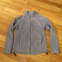 Columbia Women's Lavender Fleece Jacket Size Medium Euc Free Shipping Photo