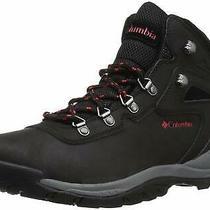 Columbia Women's Newton Ridge Plus Hiking Boot Black/poppy Red Size 8.0 Gwtb Photo