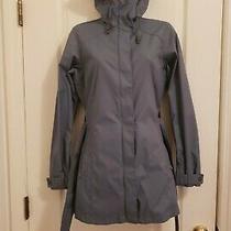 Columbia Women's Omni Shield Sz Xs Blue Gray Long Sleeve Hooded Jacket Photo