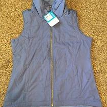 Columbia Women's Shining Light Ii Vest Trade Winds Blue Bell Size Medium Nwt Photo