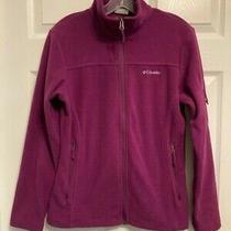 Columbia Women's Size Small Full Zip Fleece Jacket Photo