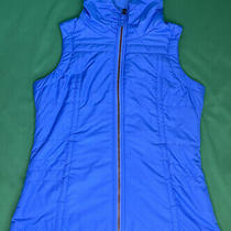 Columbia Womens Size Small Light Blue Vest 100% Polyester Photo