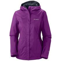 Columbia Womens Arcadia Ii Rain Jacket Waterproof Hiking Biking Camping Xl Photo