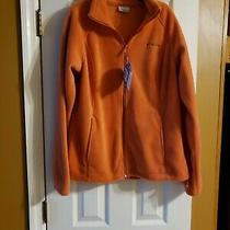 Columbia Womens Fleece Jacket Size L Apricot/clay Color Nwt Originally 60 Photo
