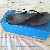 Columbia Womens Leather Slippers Sandals Size 6  Photo