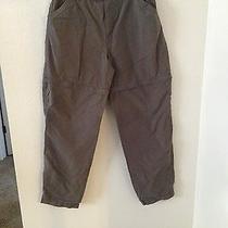 Columbia Womens Pants Size 12 Regular Brown Hiking Trail Converts to Shorts Photo