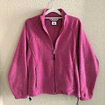 Columbia Womens S Small Full Zip Fleece Jacket Photo