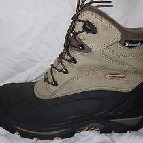 Columbia Womens Sz 11 Waterproof Leather Insulated Winter Snow Boots Bugabootoo Photo