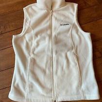Columbia Womens Vest Size Medium White Photo