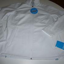 Columbia Womens White Kruser Ridge Softshell Jacket  Size L  Nwt Photo