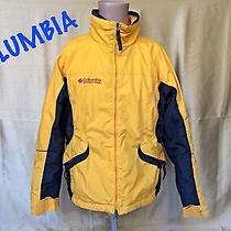 Columbia Womens Winter Jacket Size L Womens Winter Coat Yellow Photo