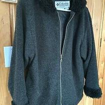 Columbia Womens Wool Hooded Jacket Coat Size S Small (Made in Usa) Nice Shape Photo
