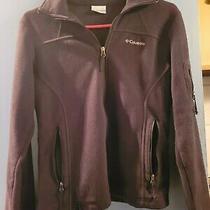 Columbia Womens Xs Black Full Zip Fleece Jacket  Photo