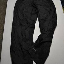 Columbia x.c.o.mens Sz Medium Pants Packable Outdoor Fishing Fitness Black Photo