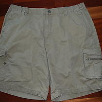 Columbia Xco Outdoors Hiking Outdoors Khaki Cargo Shorts Men's Size Xl  Am4383 Photo