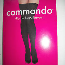 Commando New Women Dig - Free Luxury Legwear Size Medium/large Photo