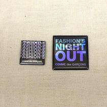 Comme Des Garcons   Vogue Fashion's Night Out Pin Pinback Button Badge Photo