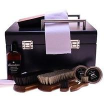 Complete Shoe Shine Box Kit Photo