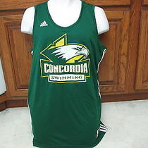 Concordia College University Swimming Swim Team Reversible Jersey Adidas Lg Photo