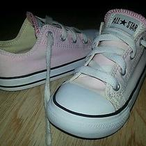 Converse 10 Toddler Pale Pink Low Tops Shoes  Photo