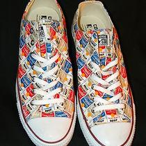 Converse All Star Andy Warhol Campbells Soup Low Top New Nwob  Mens 13 Shoes Photo