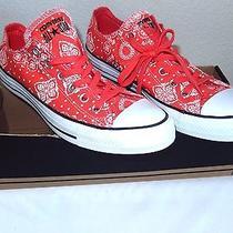 Converse All Star Bandana Print Sneakers-Size 10 Blush Photo