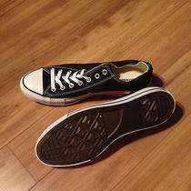 Converse All Star Black Low Tops 11.5 Brand New Photo