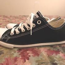 Converse All Star Black Slim Low Top Shoes  Photo