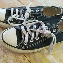 Converse All-Star Black Sneakers Athletic Shoes Size M 5 W 7 Photo