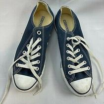 Converse All Star Blue Kids  Lace Up Sneakers Size M 5.5 W 7.5 Photo