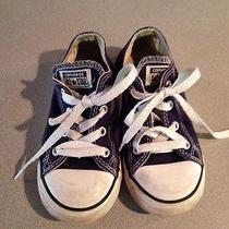 Converse All Star Boys Size 9 Low Top Kids Shoe Photo