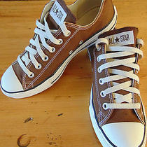 Converse All Star Brown Unisex Sneakers Size Mens 7/ Womens 9 Running Shoes Photo