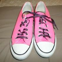 Converse All Star Canvas Hot Pink Womens Sneakers Size 8 Photo