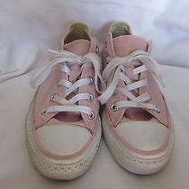 Converse All Star Canvas Low Tops Girls Size 4 Photo