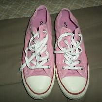 Converse All Star Canvas Pink Womens Sneakers Size 8.5 8 1/2 Photo