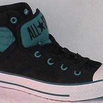 Converse All Star Chuck Taylor Ct Primo Hi Black/teal Men Shoes Size 9 Photo
