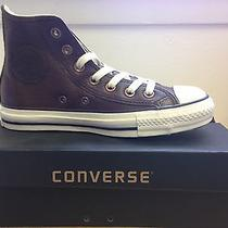 Converse All Star Chuck Taylor Hi-Top Chocolate Leather Photo