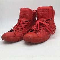 Converse All Star Chuck Taylor High Top All Red Men 8women 10 Athletic Shoes Photo