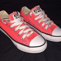 Converse All Star Chuck Taylor Kids Size 11 Low Top  Photo