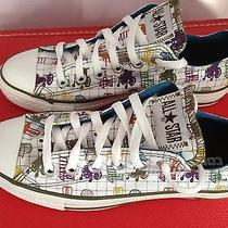 Converse All Star Chuck Taylor Low Top Rare Grampa Chair Print Women 7 Men 5 Photo
