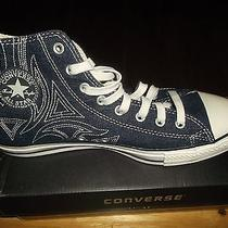 Converse All Star Chuck Taylor Men's 11.5dm Blue Canvas / Denim (Like New Photo