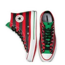 Converse All Star Chuck Taylor Red Black Green Size 9 Denim Tears Air Hammons Photo