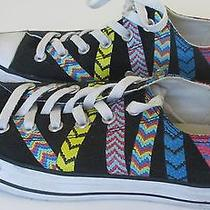Converse All-Star Friendship Bracelet Sneakers Womens 9 Uk 7 Eu 40 Ox Shoes  Photo