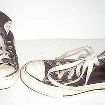 Converse All Star Kids Childs Black Athletic Shoes 11 Photo