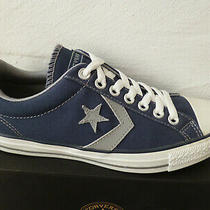 Converse All Star Lace Up Sneaker Blue New Photo