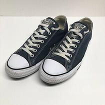 Converse All Star Low Mens Size 10 Navy Blue Canvas Shoes Sneakers M9697 Unisex Photo