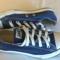 Converse All Star Low Top Blue Size 2.5 Photo