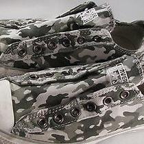 Converse All Star Low Top 'Camo' Slip on Sz. 7us Mens Photo