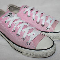 Converse All Star Low Top Canvas Pink Size 7 Womens Photo